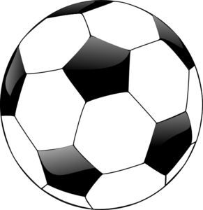 White soccer ball clipart picture download Soccer ball clip art black and white - ClipartFest picture download