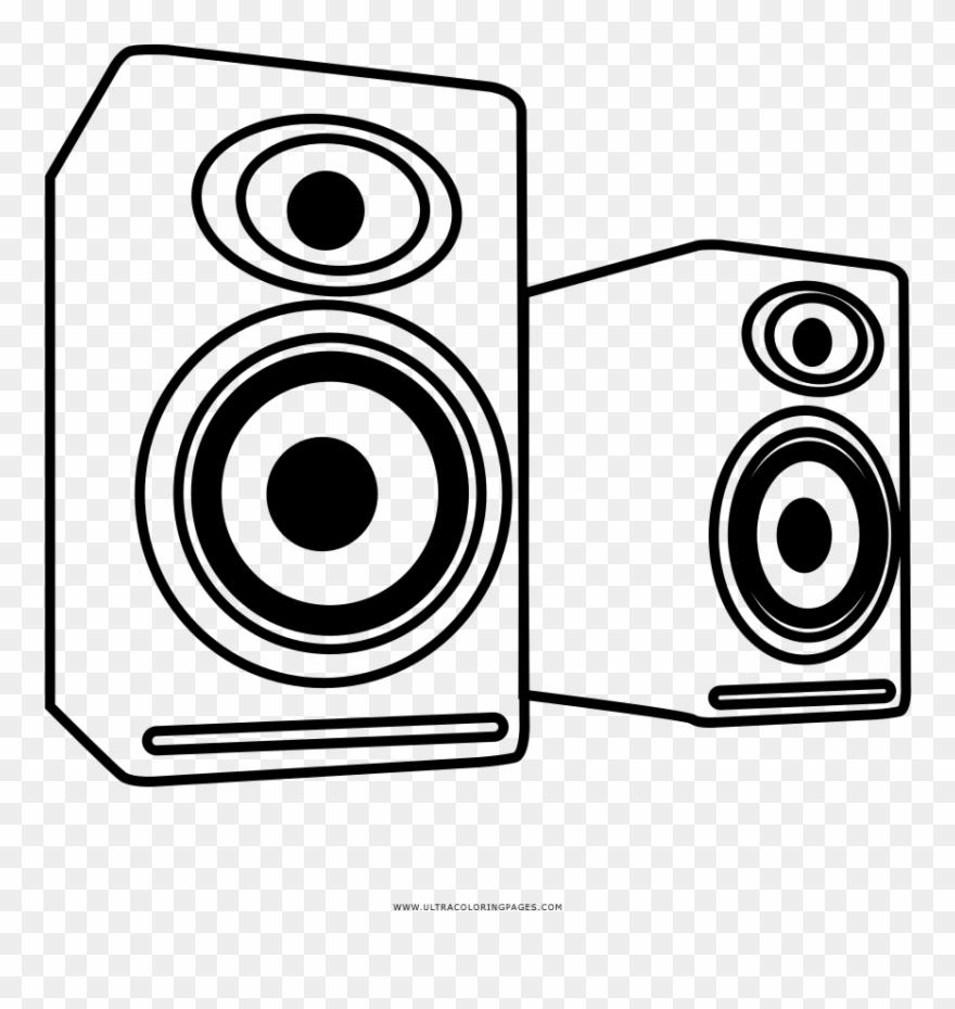 White speaker clipart vector free stock Drawn Speakers Draw Clipart (#3109527) - PinClipart vector free stock