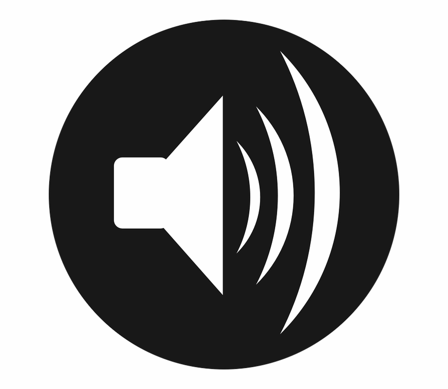 White speakers clipart clip royalty free download Speaker Loud Speaker Audio Sound Music Loudness - White ... clip royalty free download