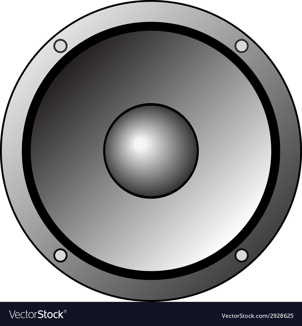 White speakers clipart image royalty free Speaker Clipart Icon image royalty free