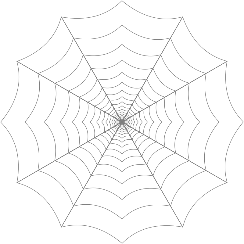 White spider web clipart picture black and white download Spider web web clip art clipart clipartix - Cliparting.com picture black and white download