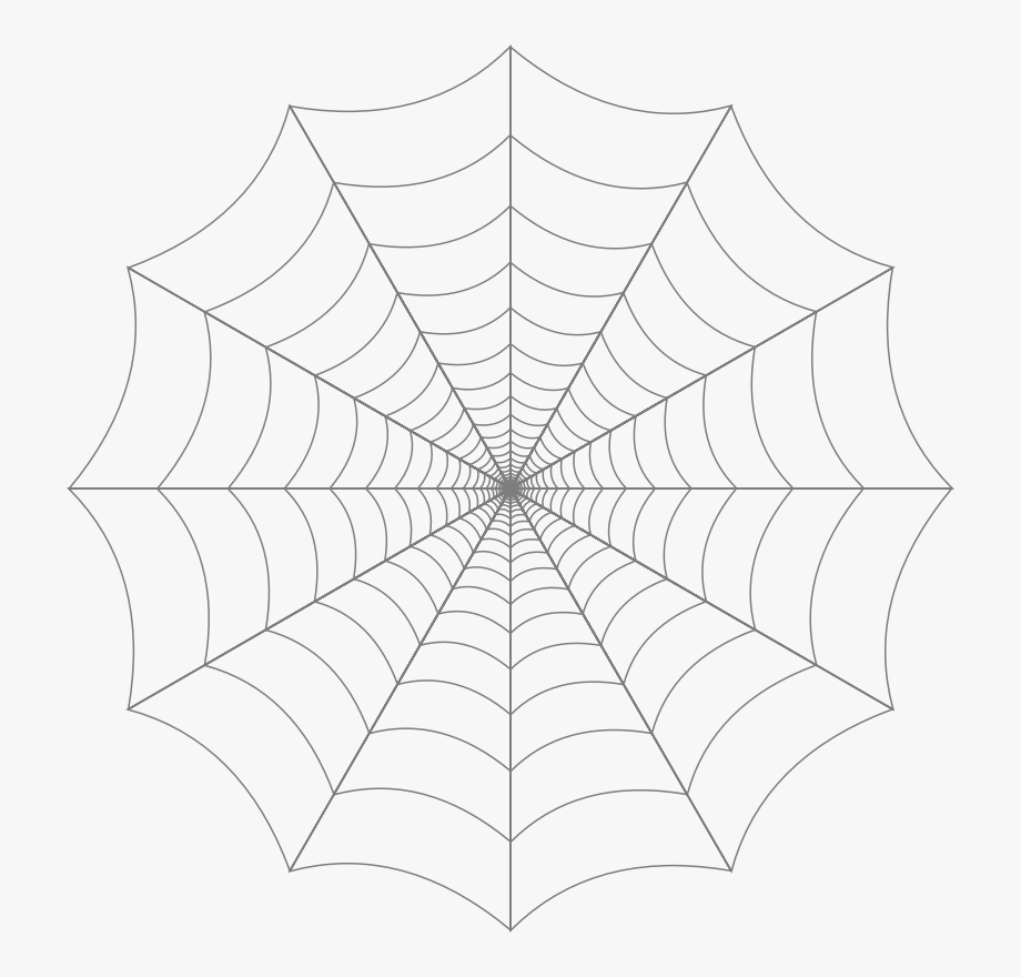 White spider web clipart clipart black and white library Spider Web Clipart - Spider Web #79626 - Free Cliparts on ... clipart black and white library