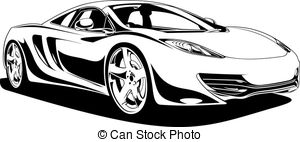 White sports car clipart jpg free library Sports car Illustrations and Clipart. 57,776 Sports car ... jpg free library