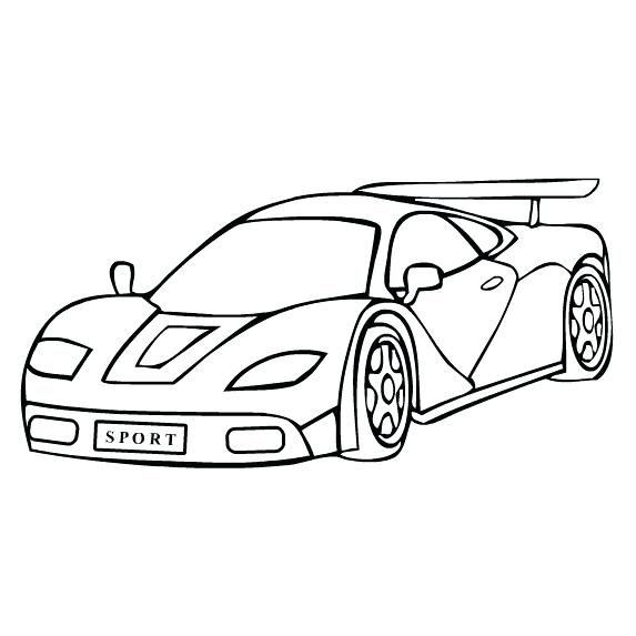 Racecar clipart black and white clipart royalty free Sports car clipart black and white New Amazing Coloring ... clipart royalty free