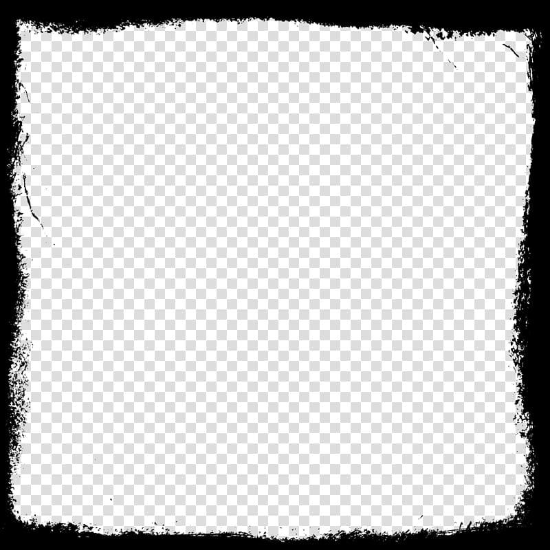 White square clipart transparent picture freeuse library Black board , Black and white Square Pattern, Square Frame ... picture freeuse library