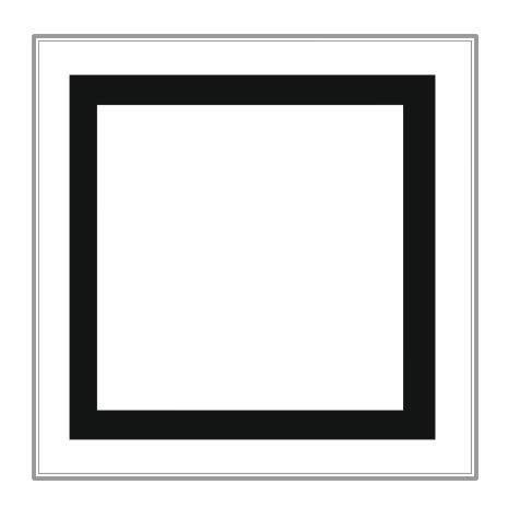 White square outline clipart vector Free Square Cliparts, Download Free Clip Art, Free Clip Art ... vector