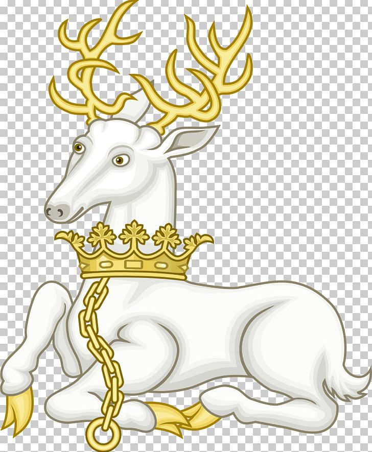 White stag clipart transparent stock Richard II White Hart White Stag Royal Badges Of England PNG ... transparent stock