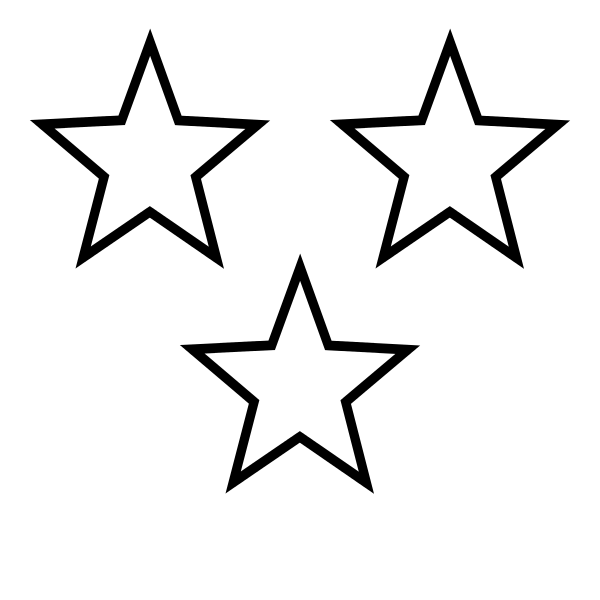 White star clipart transparent free download File:White Stars 3.svg - Wikimedia Commons free download