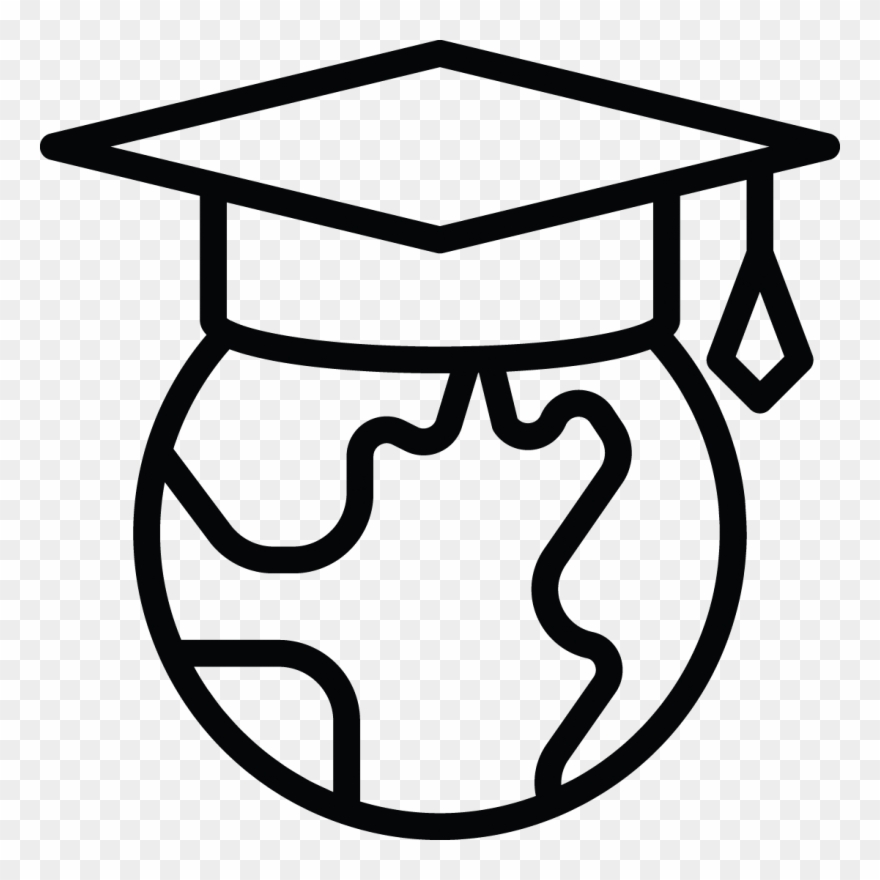 White student clipart clipart free download Global Student Clip Art Black And White - Clipart Black ... clipart free download