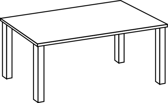 White table clipart svg freeuse Picnic Table Clipart Black And White Clipground, Table Clip ... svg freeuse
