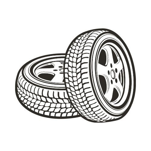 White tire clipart clipart royalty free stock TIRES BW Clip Art - Get Started At ThatShirt! clipart royalty free stock