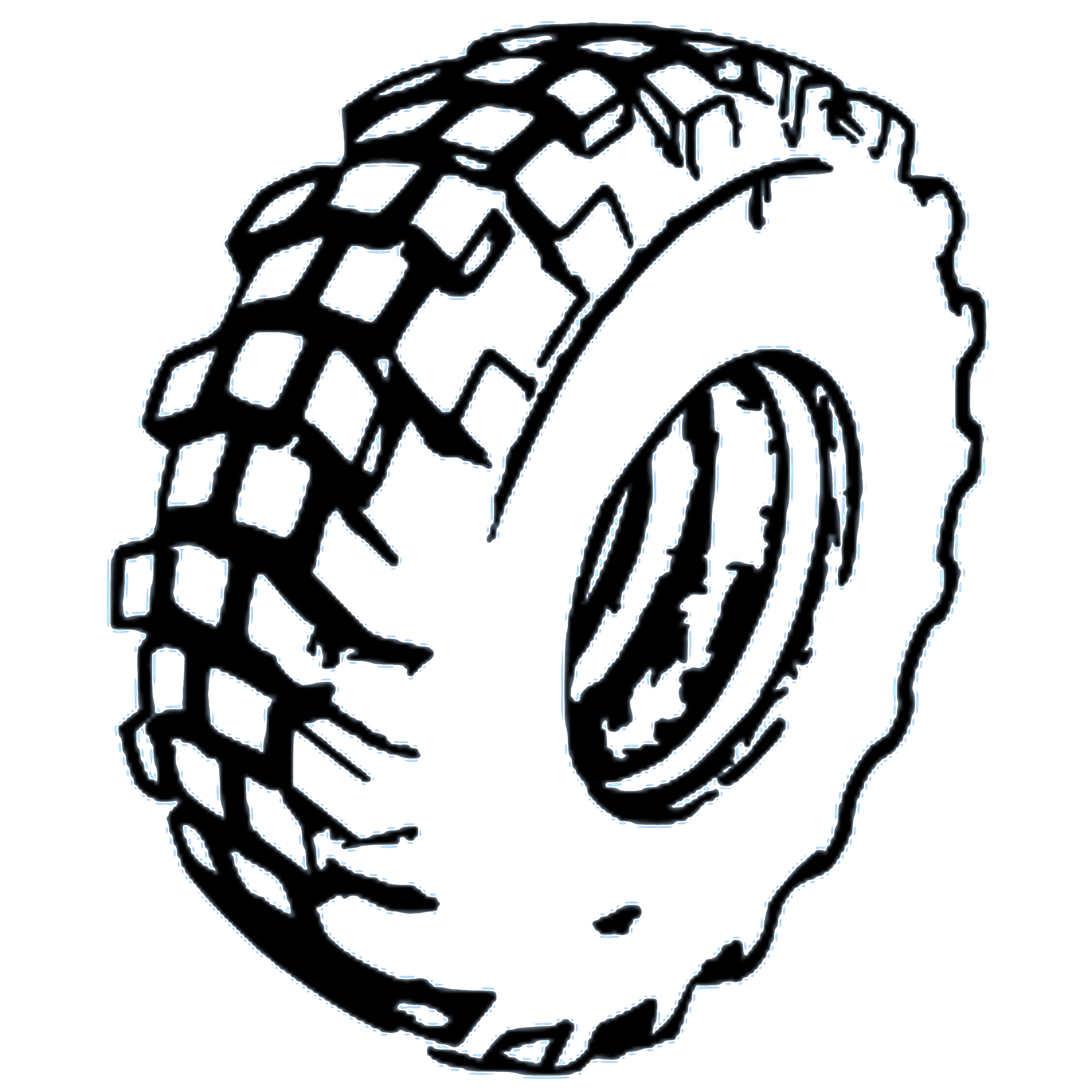 White tire clipart clipart freeuse library Tire Tracks Clipart | Free download best Tire Tracks Clipart ... clipart freeuse library