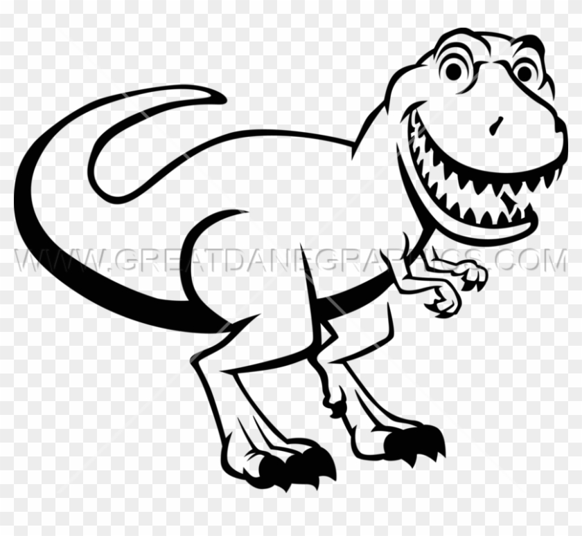 White trex clipart free library T Rex Png Black And White - Trex Clipart Black And White ... free library