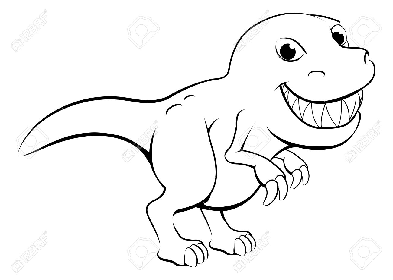 White trex clipart png freeuse library Trex clipart black and white » Clipart Station png freeuse library