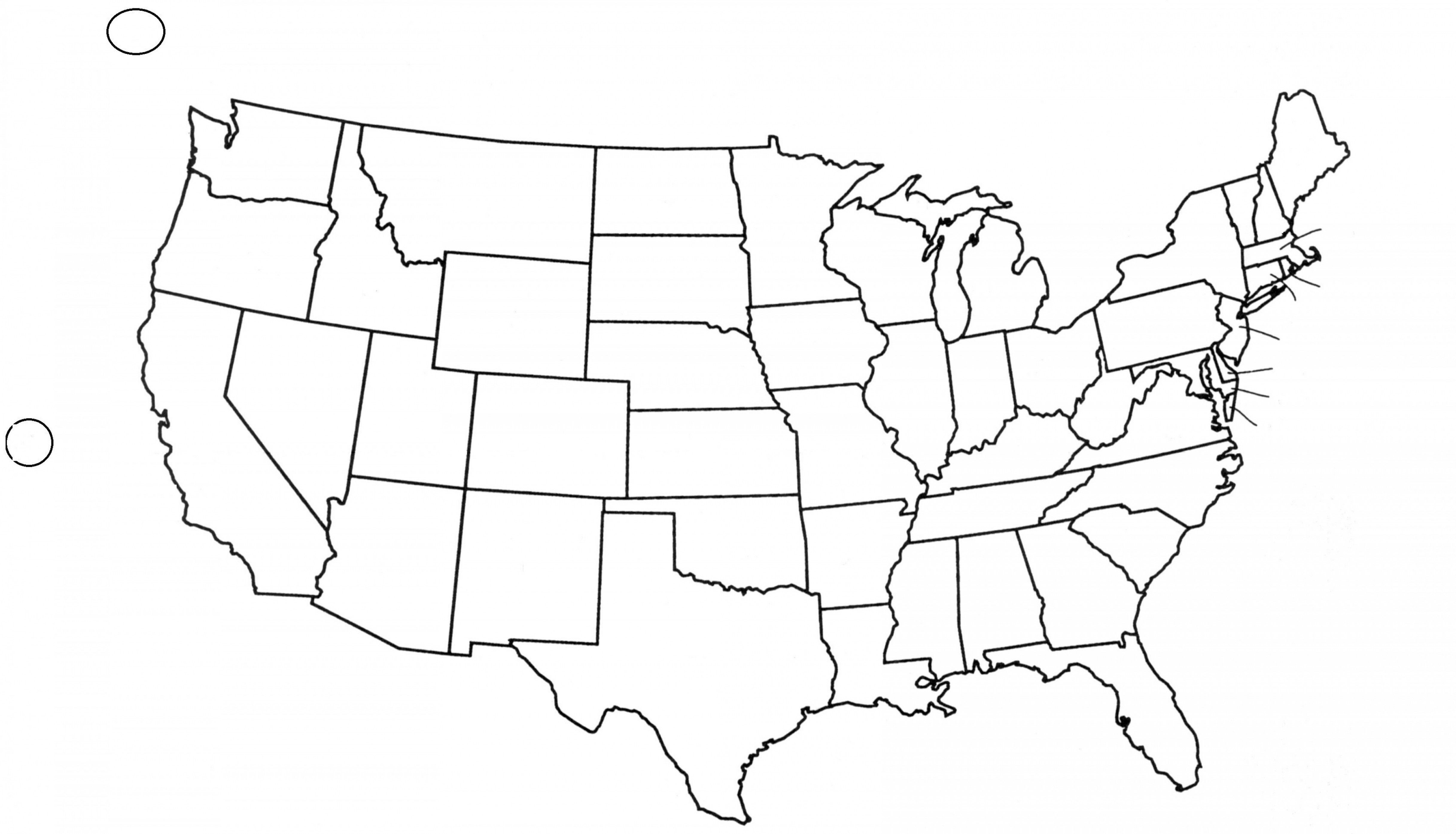 White united states map clipart black and white Clipart Of United States Map Outline | SOIDERGI black and white