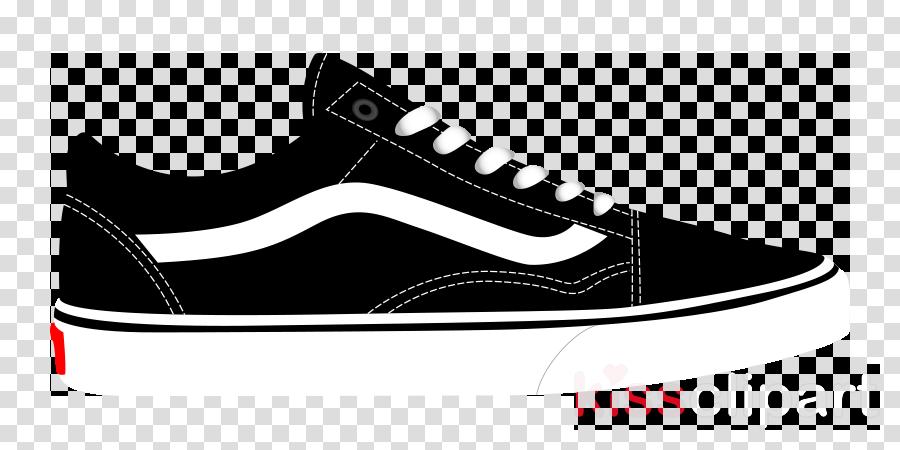 Old skool vans clipart banner stock Vans Logo clipart - White, Black, Product, transparent clip art banner stock