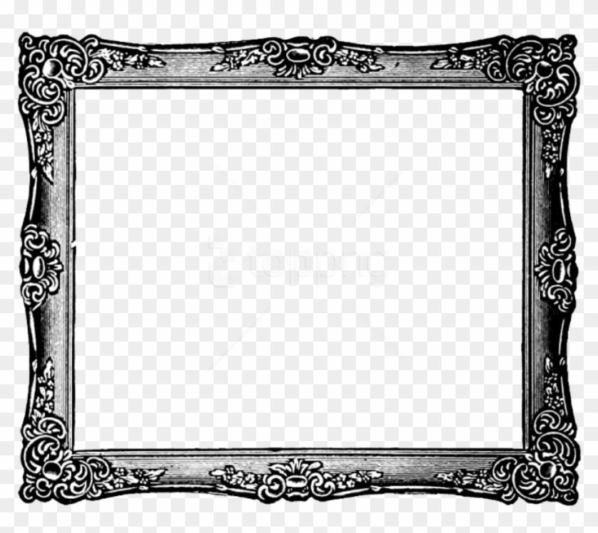 White vintage frame clipart graphic freeuse Free Png Vintage Frame Image Png - Frame Clipart ... graphic freeuse