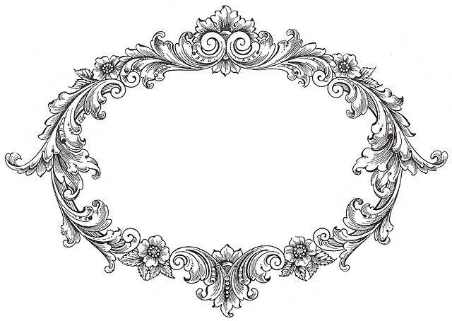 White vintage frame clipart clip royalty free download FREE vintage frame Clip Art from The Graphics Fairy | 相框 ... clip royalty free download