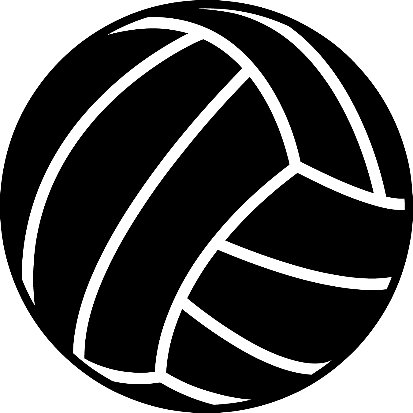 White volleyball black background clipart graphic library download Free volleyball clipart clipart images gallery for free ... graphic library download