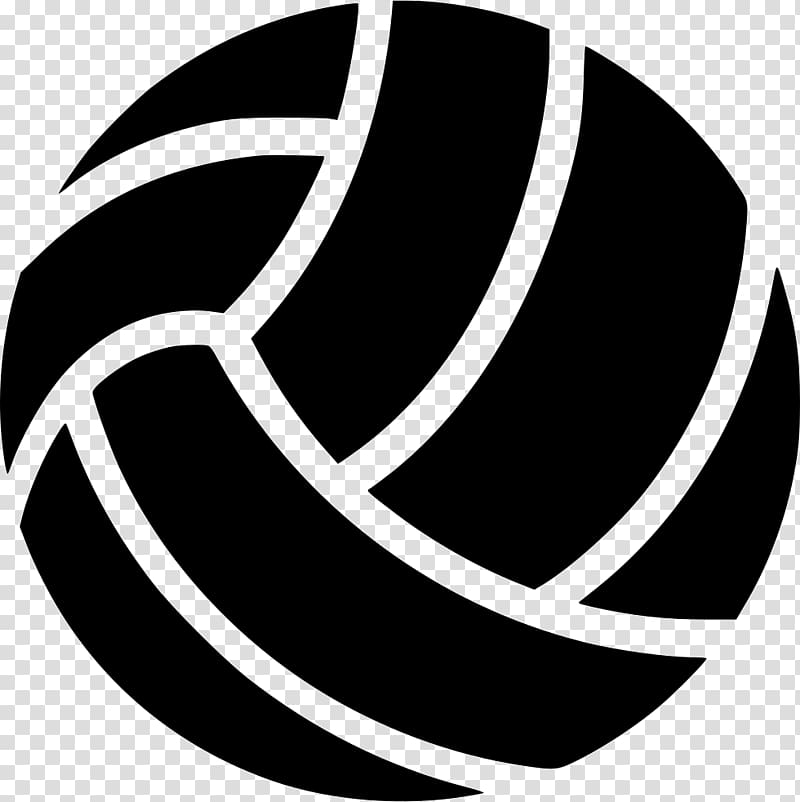 White volleyball black background clipart clip transparent Beach volleyball Ball game, volleyball transparent ... clip transparent