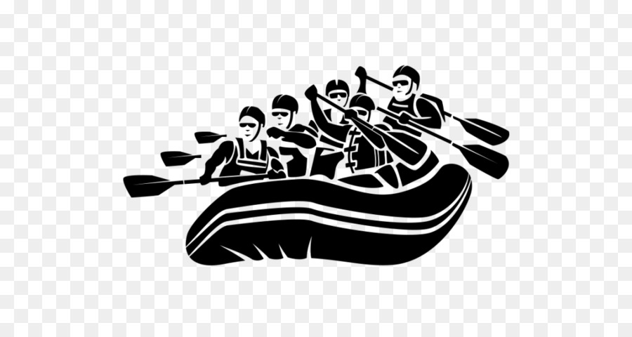 White water rafting image clipart clipart black and white Boat Cartoon png download - 1080*565 - Free Transparent ... clipart black and white