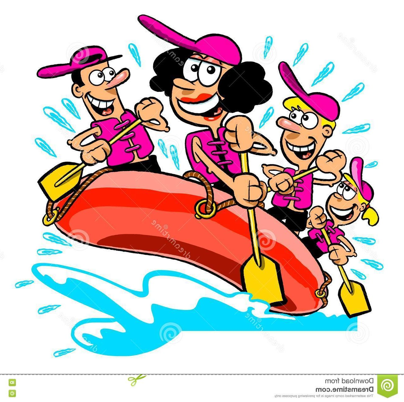 White water rafting image clipart vector royalty free stock Whitewater Rafting Cliparts-Vector - Making-The-Web.com vector royalty free stock
