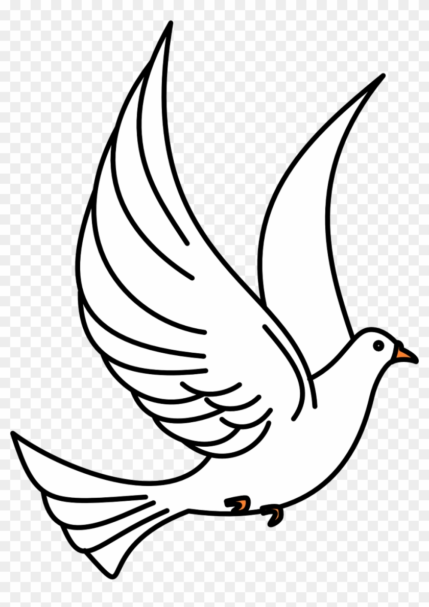 Outline of birds clipart png stock Dove Birds Flying Flight Wings Png Image - Flying Bird ... png stock