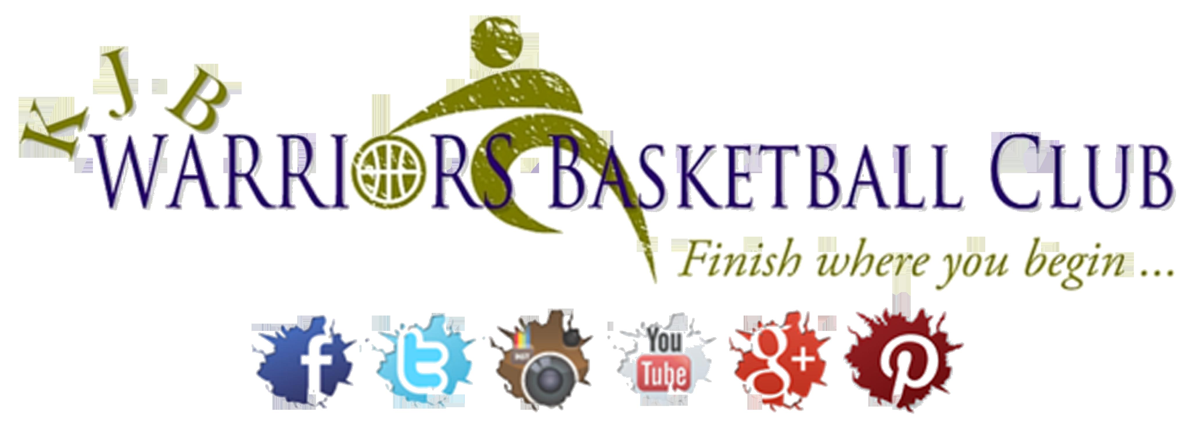 Whiteland warriors basketball clipart vector free download KJB ATHLETICS vector free download