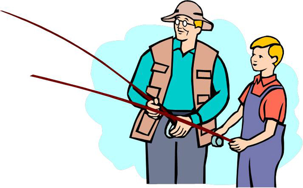Who are they clipart image 37+ Clipart Fishing   ClipartLook image