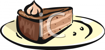 Whole chocolate pie clipart png download Slice Of Chocolate Mousse Pie Clipart Image - foodclipart.com png download