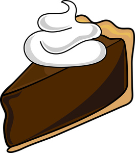 Whole chocolate pie clipart clipart library Chocolate Pie Clipart clipart library