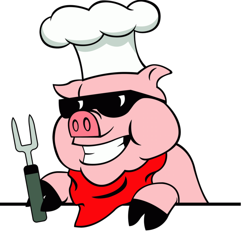 Whole hog roast clipart graphic library download Download Free png Pig Roast Clip Art.png - DLPNG.com graphic library download