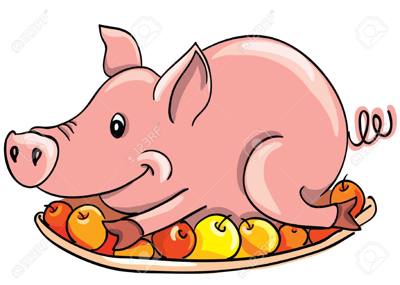 Whole hog roast clipart black and white Pig Roast Clipart | Free download best Pig Roast Clipart on ... black and white
