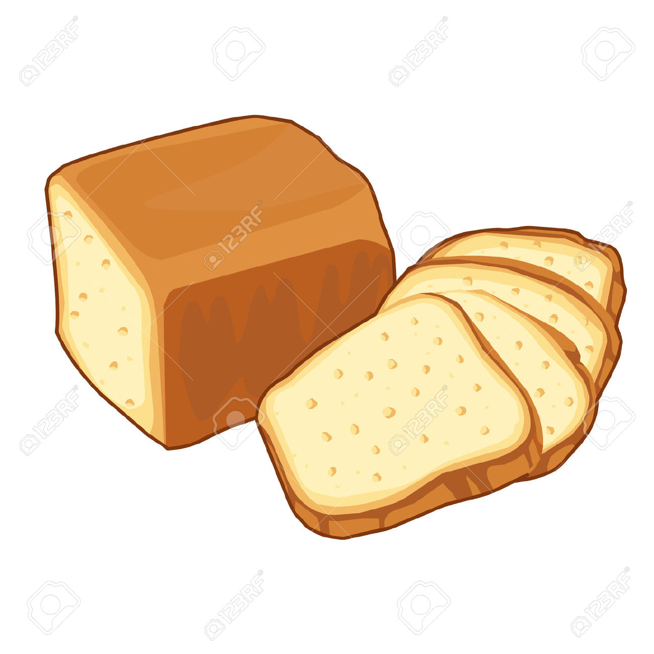 Whole wheat bread clipart png free stock Whole Wheat Bread Clipart (47 ) - Free Clipart png free stock