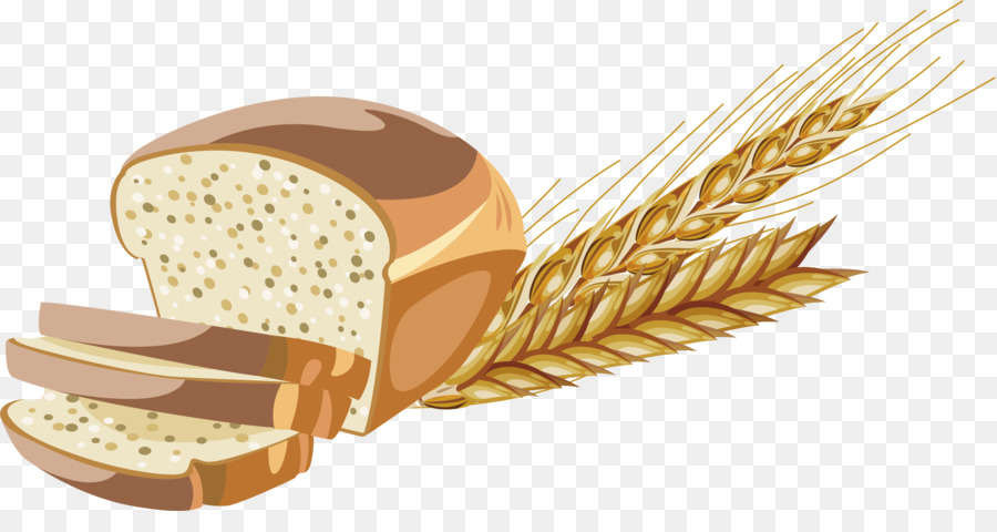 Whole wheat bread clipart transparent library Wheat Cartoon clipart - Bread, Food, transparent clip art transparent library