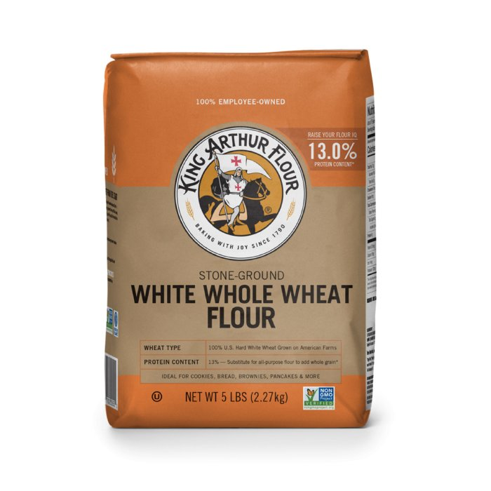 Whole wheat flour clipart svg royalty free library King Arthur White Whole Wheat Flour - 5 lb. svg royalty free library