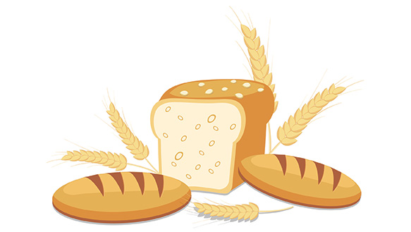 Whole wheat flour clipart banner library stock Best Bread For People With Diabetes - TheDiabetesCouncil.com banner library stock