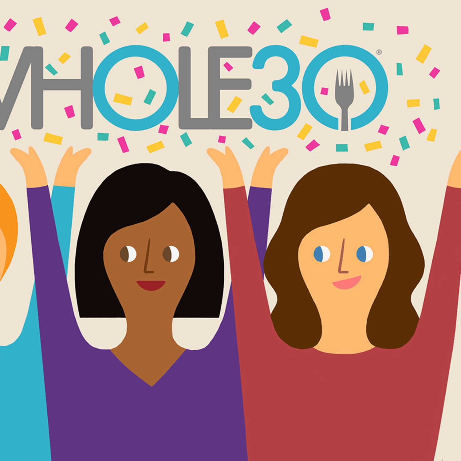 Whole30 challenge clipart vector transparent 6 Kitchn Editors Tried Whole30, and Here\'s What Happened ... vector transparent