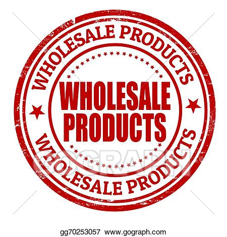 Wholesale clipart picture free library Vector Stock - Wholesale products stamp. Clipart ... picture free library