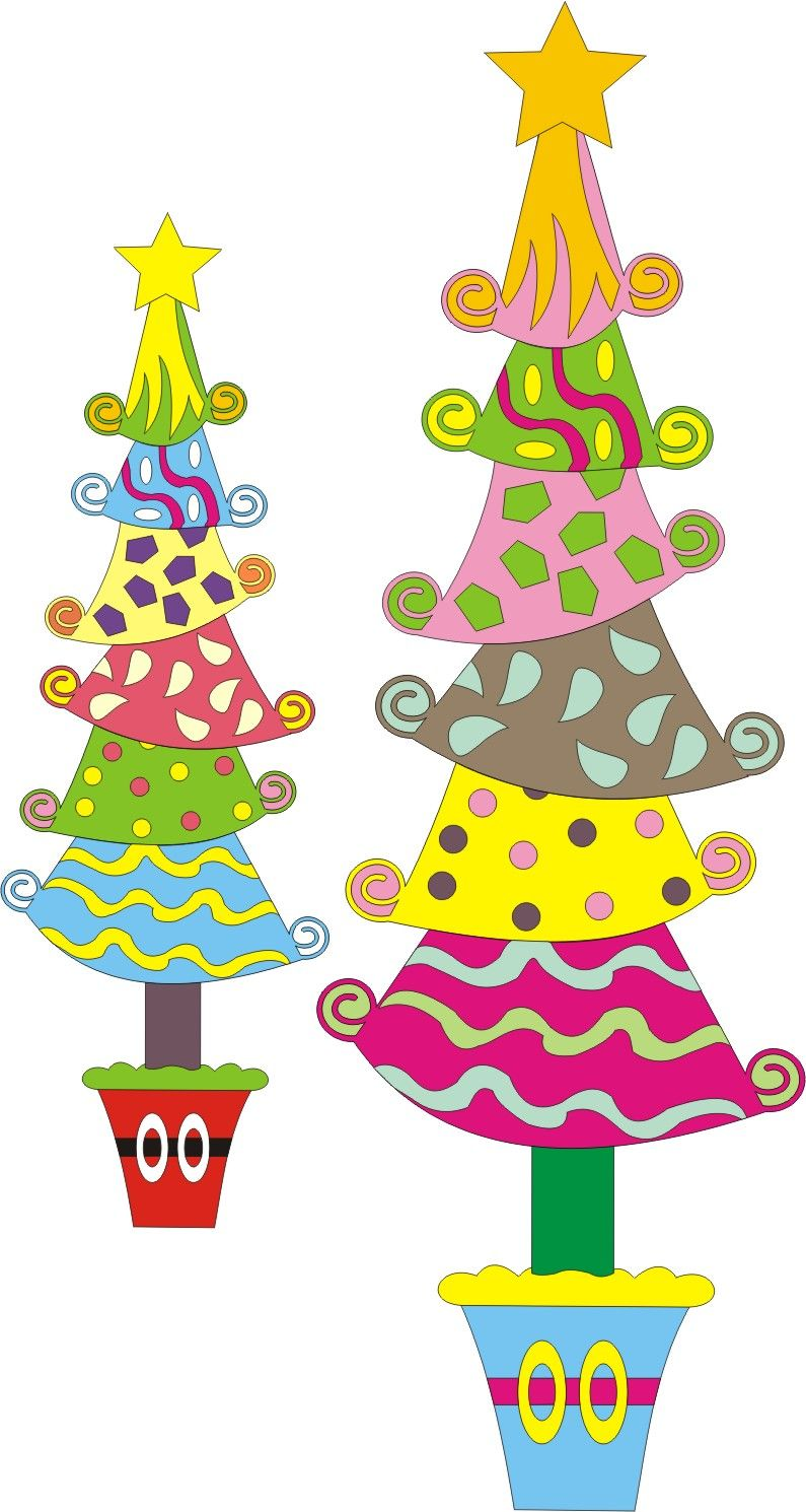 Whoville tree clipart svg black and white library Whoville Tree Clipart & Whoville Tree ...   Things i would ... svg black and white library