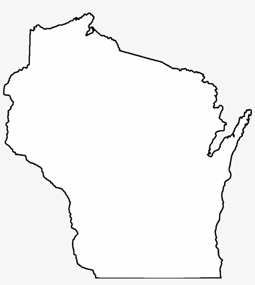 Wi clipart transparent vector transparent 13 Images Of Usa Map Outline Transparent - Wisconsin Clip ... vector transparent