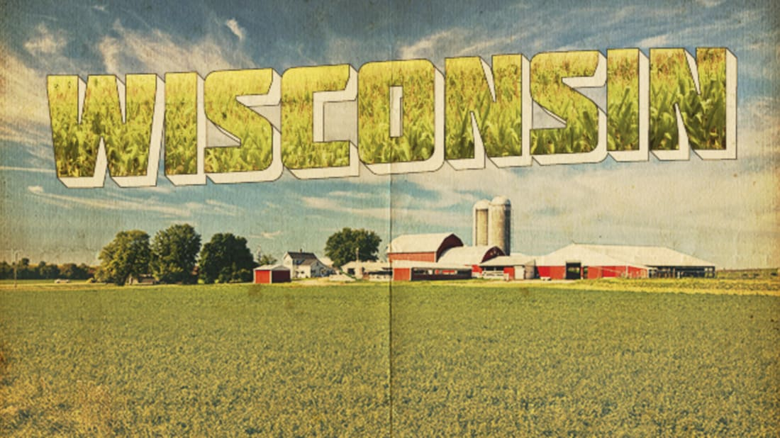 Wi farms clipart picture royalty free 25 (Slightly) Cheesy Facts About Wisconsin | Mental Floss picture royalty free
