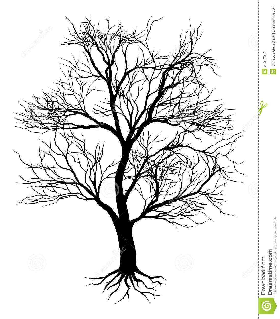 Wicked dead tree clipart clip freeuse Images For > Dead Oak Tree Drawing | My Style | Tree ... clip freeuse