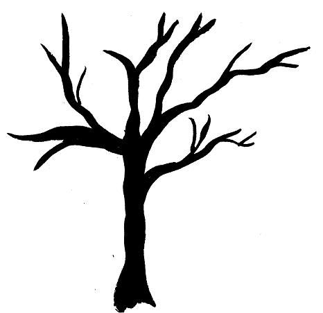 Wicked dead tree clipart picture black and white Wicked Tree Drawings | Free download best Wicked Tree ... picture black and white