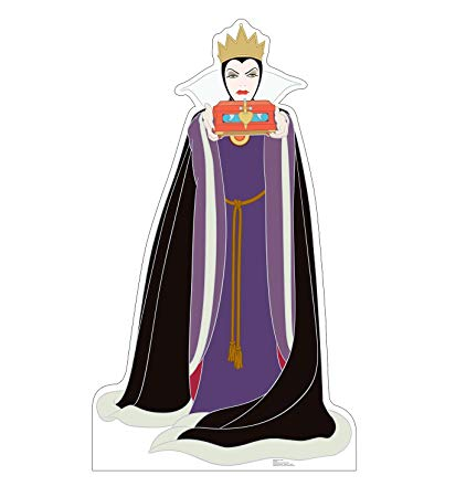 Wicked person clipart picture library library Advanced Graphics Wicked Queen Life Size Cardboard Cutout Standup -  Disney\'s Snow White and the Seven Dwarfs picture library library