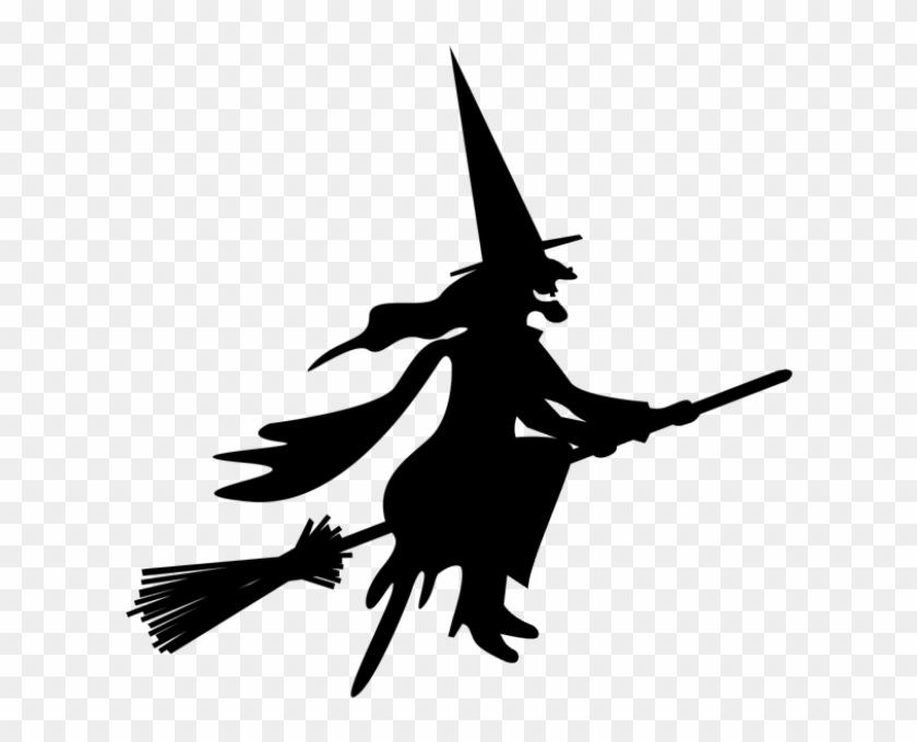 Wicked witch clipart transparent background jpg royalty free library Witch On Broom Png , Png Download - Wicked Witch Of The West ... jpg royalty free library