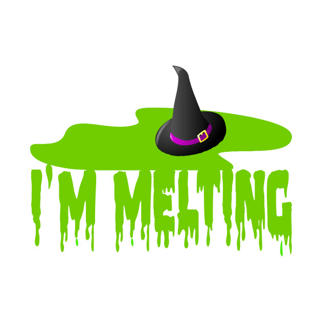 Wicked witch of the west melting clipart png transparent library I\'m Melting - Wicked Witch Of The West png transparent library