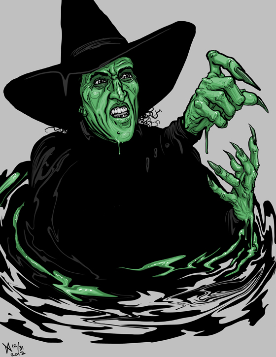 Wicked witch of the west melting clipart svg library 31 Days of Halloween 2012: 12 of 31: Wicked Witch Art svg library