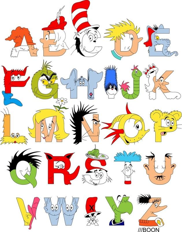 Wickersham clipart transparent Dr. Seuss Alphabet by Mike Boon | transparent