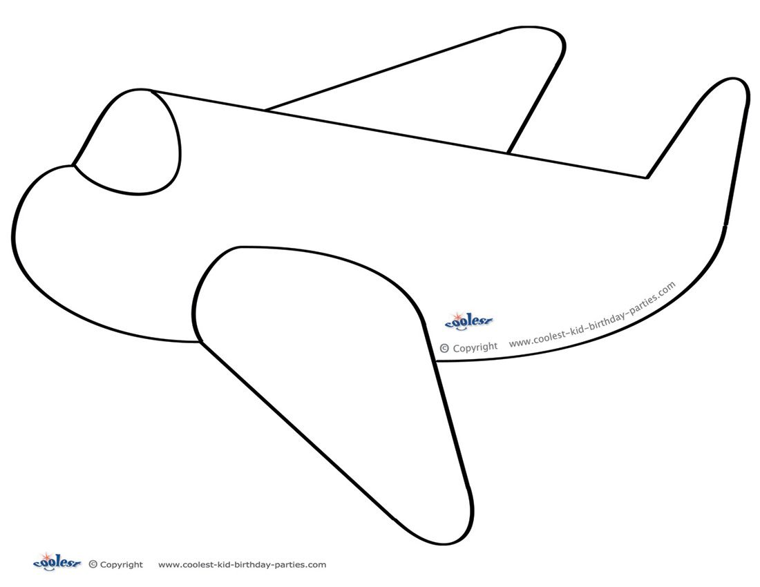 Wide banners clipart plane themes image transparent stock Large Printable Airplane Decoration - Coolest Free ... image transparent stock